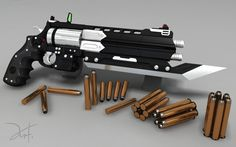 Revolver Brotherguard Highpoly by The-5.deviantart.com on @DeviantArt