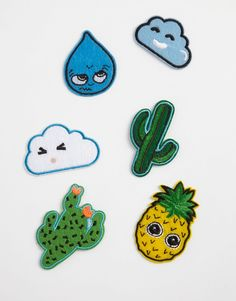 Monki Iron On Patches