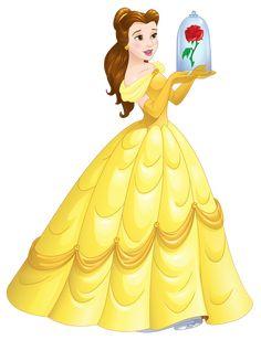 Artwork/PNG en HD de Belle - Disney Princess