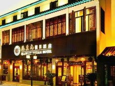 Suzhou Starway Hotel Qianshengyuan Suzhou Shantang Street China, Asia Starway Hotel Qianshengyuan Suzhou Shantang Street is conveniently located in the popular Shilu Business District area. Offering a variety of facilities and services, the hotel provides all you need for a good night's sleep. Facilities like free Wi-Fi in all rooms, 24-hour security, 24-hour front desk, express check-in/check-out, Wi-Fi in public areas are readily available for you to enjoy. Guestrooms are de...