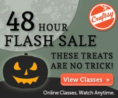 Craftsy 48 hour flash sale