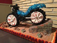 Moto trial #candybar #sweet #tartaspersonalizadas #hondarribia