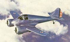 The Curtiss-Wright AT-9 Jeep was a twin-engined advanced trainer aircraft used by the United States during World War II to bridge the gap between single-engined trainers and twin-engined combat aircraft. The AT-9 had a low-wing cantilever monoplane configuration, retractable landing gear and was powered by two Lycoming R-680-9 radial engines.
