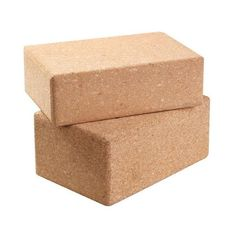 Live the true yogi lifestyle by being an Eco-conscious warrior who cares about the earth. These natural cork yoga blocks are made from cork trees which are not
