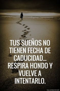 Los sueños no tienen fecha de caducidad... Respira hondo y vuelve a intentarlo :)
