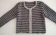 Chaqueta estilo chanel a crochet (ganchillo)