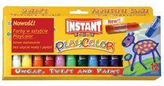 Instant Playcolor - sztyft, farbanajlepsza