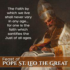 Pope St. Leo the Great - Feast November 10