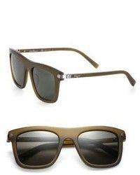 Dunkelbraune Sonnenbrille von Salvatore Ferragamo