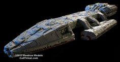 Sneak Peak:  The Classic Battlestar Galactica from Moebius Models