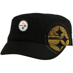 Pittsburgh Steelers Youth Girls Military Snapback Hat - Black #Fanatics