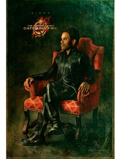 Official Capitol Couture Portrait: Cinna - The Hunger Games: Catching Fire