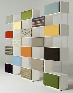 nice..would make the material sections bulletin boards under material...orrr magnet boards....