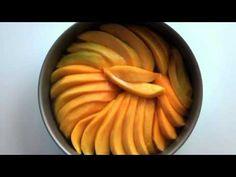 Tarte tatin à la mangue. Cette recette est réalisée avec des #mangues, du sorbet noix de #coco et de la #pate feuilletée de chez #Picard.