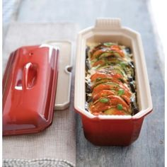 Le Creuset for my dinners. Any color