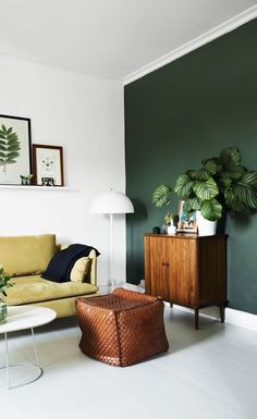 Decorating a plain wall in your home. The best way to decorate small spaces.