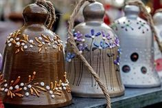 Image result for making clay bells