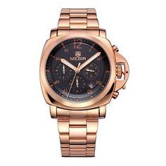 63ed5f0a66e Relogio Masculino Ouro Rose Funcional Barato - Dali Relógios