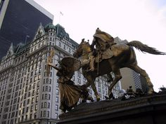 by my old office!  The Sherman Monument in front of Grand Army Plaza on 5th Avenue...have you seen it?