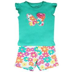 Kidswear Singapore @ Honey & Clover | 2-Piece Butterfly Set by Jumping Beans
