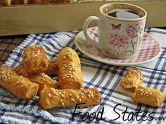 Αλμυρά κουλουράκια - Food States Greek Sweets, Greek Recipes, French Toast, Food And Drink, Appetizers, Snacks, Cookies, Breakfast, Blog