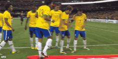 brazil, foot, and team image
