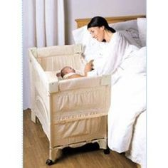 The Arm's Reach® Mini Co-Sleeper® is the only patented cosleeping product on the market that offers a method for attaching the babies sleep space securely to the side of the parent's bed. Co Sleeper Bassinet, Baby Co Sleeper, Baby Bassinet, Rock A Bye Baby, Baby Boy, Baby Must Haves, Babies R Us, Reborn Babies, Everything Baby