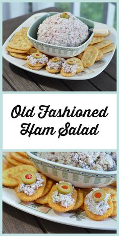 This is the BEST recipe for ham salad EVER! Cook a ham just so you can make this! http://cottageatthecrossroads.com