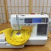 Top Sewing Machines Brother Computerized Embroidery and Sewing Machine With USP Port Embroidery Machine Reviews, Home Embroidery Machine, Brother Embroidery Machine, Sewing Machine Reviews, Embroidery Machines, Sewing Machines Best, Brother Sewing Machines, Brother Se400, Embroidery Monogram