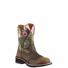 ARIAT FATBABY COWGIRL CAMO 10006854