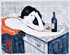 placerdiario:  By Esperanza Gangloff#artisthttp://www.hopegangloff.com/