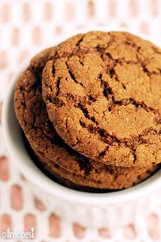 """Big Soft Ginger Cookies 