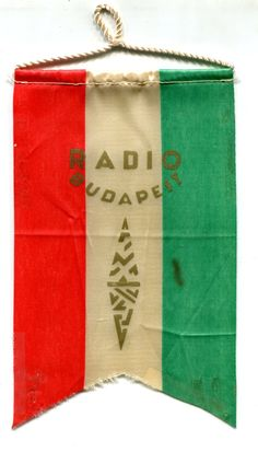 Pennant from Radio Budapest