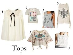 Festival Style - Tops