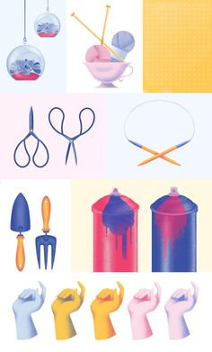 Hooked On Crafts on Behance