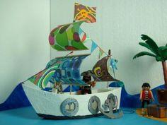 Créez avec vos enfants un super bateau pirate avec des objets à recycler ! Découvrez tous les autres ateliers C-MonEtiquette.