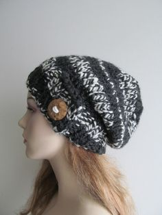 Slouchy Beanie Slouch Wool Hats Oversized Baggy Beret ❤ by Lacywork, $44.50