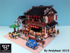 https://flic.kr/p/tVyHhH | Shanghai Bun Restaurant, my 2nd Chinese modular building