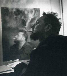 Pierre Brasseur par Robert Doisneau,...1954