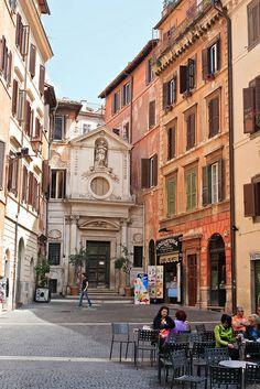 Dining Al Fresco - Rome, Italy