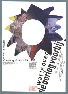Jan van Toorn, плакат, 1999 Graphic Designers, Dutch, Van, Posters, History, Style, Swag, Historia, Dutch Language