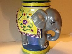Gorgeous Elephant floating votive center piece