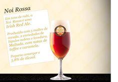 Cerveja Chopp Noi Rossa, estilo Irish Red Ale, produzida por Cervejaria Noi, Brasil. 5.8% ABV de álcool.