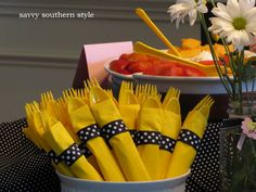 bumble bee baby shower | Baby Shower Part III.....the food and drinks