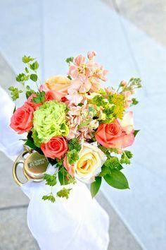 Halekulani wedding, wedding flower