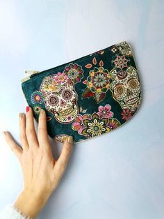 Boutique Etsy, Coin Purse, Creations, Couture, Wallet, Fabric, Bags, Retro Pattern, Art Crafts