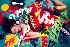 Pin-Up VS. Manga – Photography by Mitsuaki Koshizuka for Cyzo Magazine