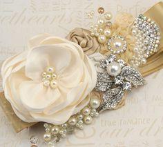 Bridal Sash Wedding Sash