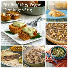 75+ Healthy, Vegan, Gluten-free & Sugar-free Thanksgiving recipes @rickiheller
