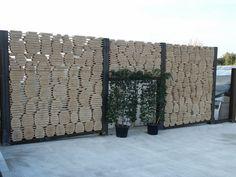 Gabionen Mit Holz Kombinieren Und Befullen Gartenideen Garden